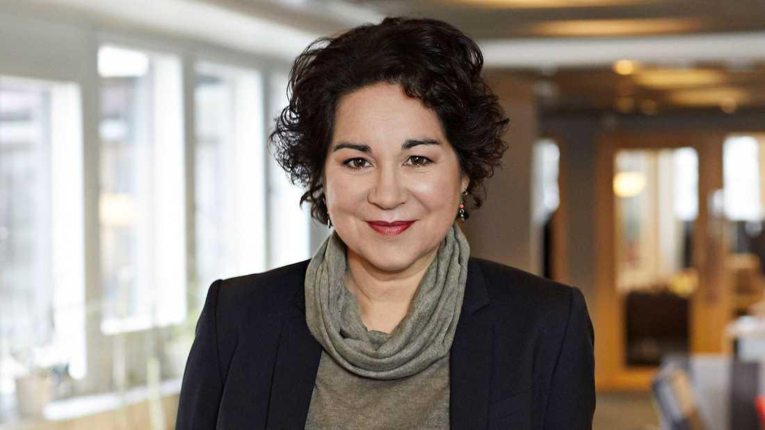 Sabina Rasiwala, HR- och kommunikationsdirektör på SVT.