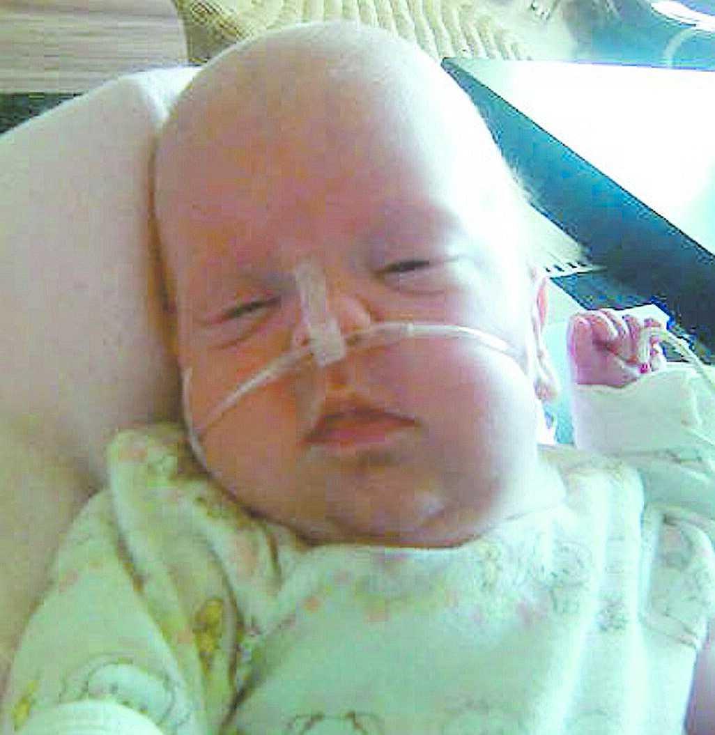 dödlig dos Linnea dog fyra månader gammal på Astrid Lindgrens barnsjukhus. Obduktionen visade att hon hade höga halter av narkosmedlet tiopental i kroppen.