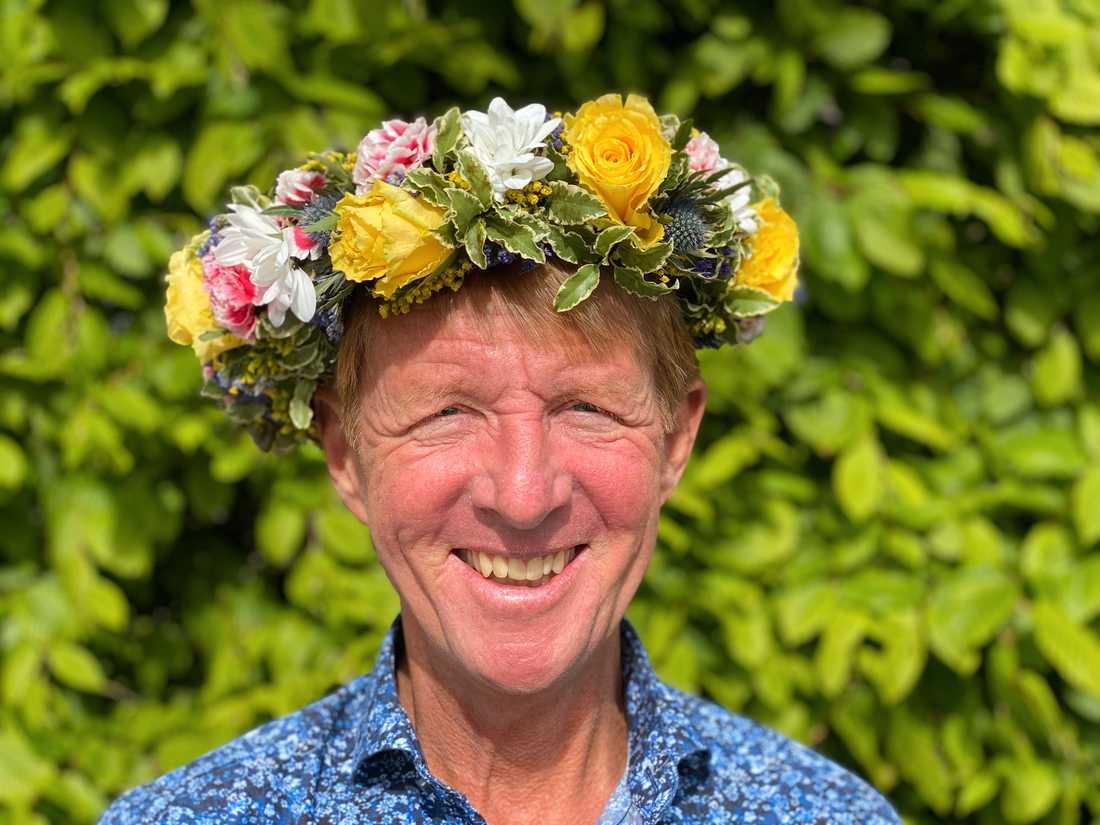 Många ville lyssna på den före detta buddhistmunken Björn Natthiko Lindeblads sommarprat i poddform. Hans program är det tredje mest populära. Pressbild.