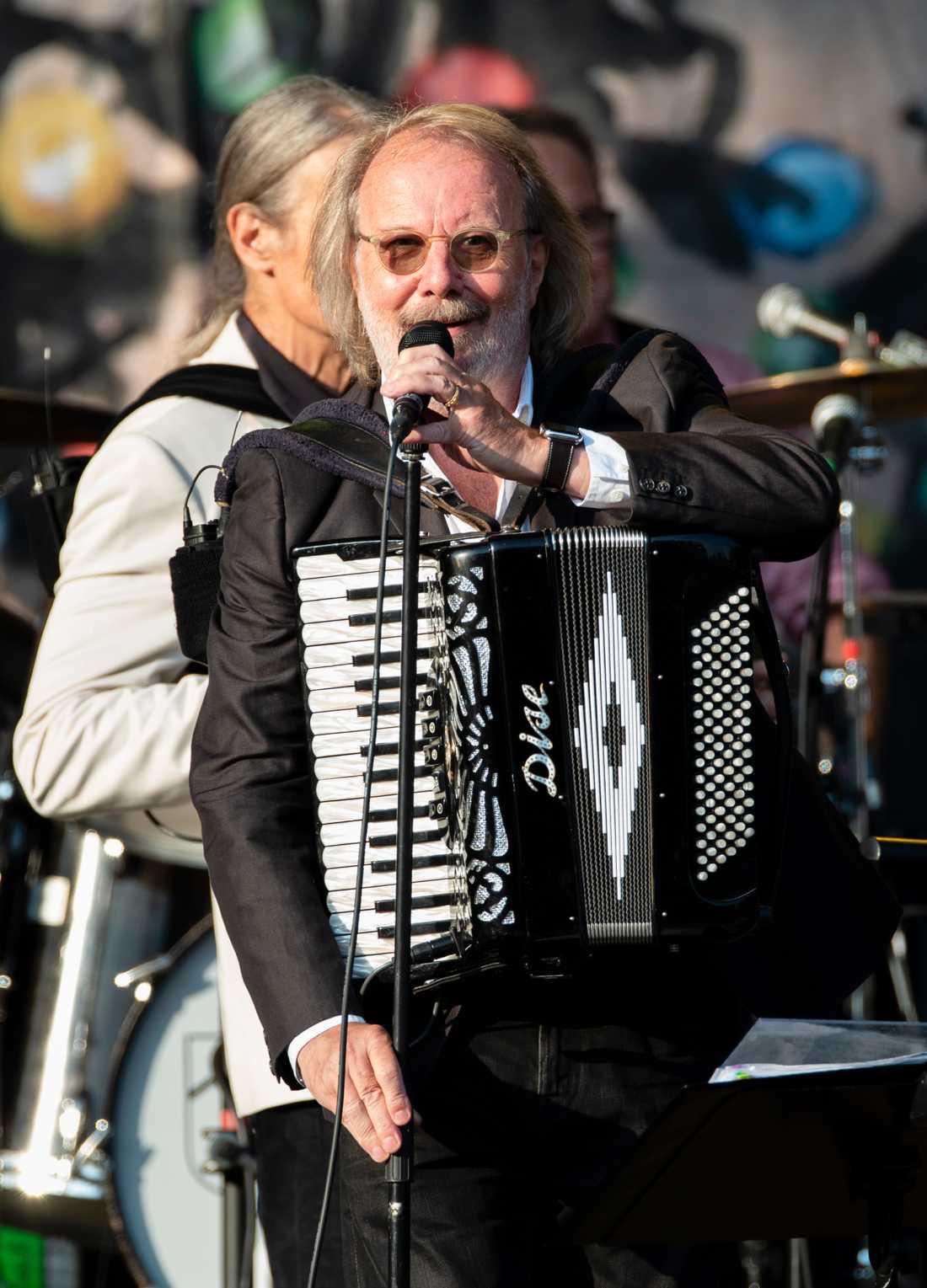 Benny Anderssons Orkester live på Trädgårdsföreningen i Göteborg.
