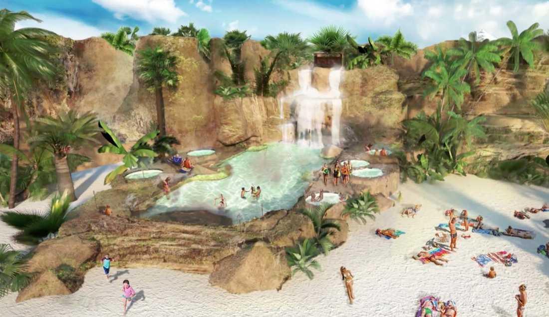 Summerland kommer att ligga i London – om projektet blir verklighet.