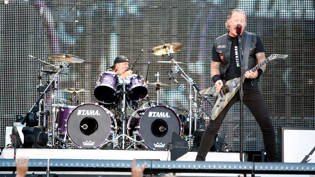 Metallica på Ullevi.