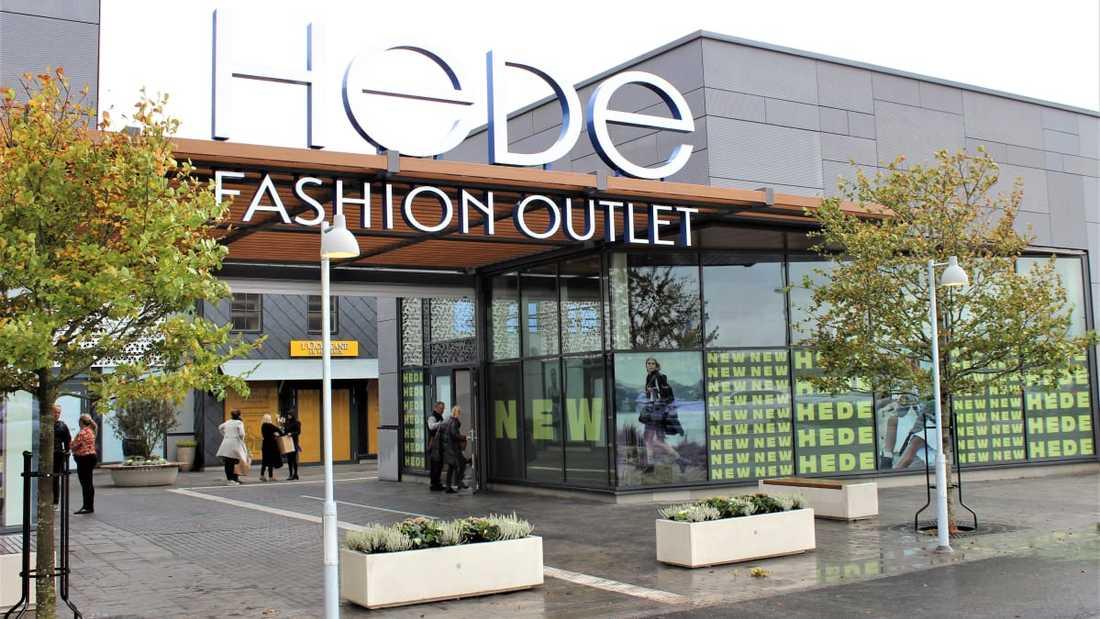 Hede fashion outlet i Kungsbacka.