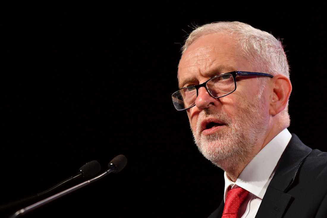 Jeremy Corbyn, brittisk oppositionsledare. Arkivbild.
