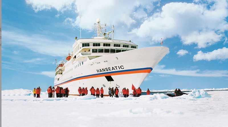 3. HANSEATIC (1765 poäng) Elegant expeditionsfartyg för 184 resenärer som kan uppleva exempelvis Antarktis utan att göra avkall på komfort. 123 meter lång, hade premiär 1993.