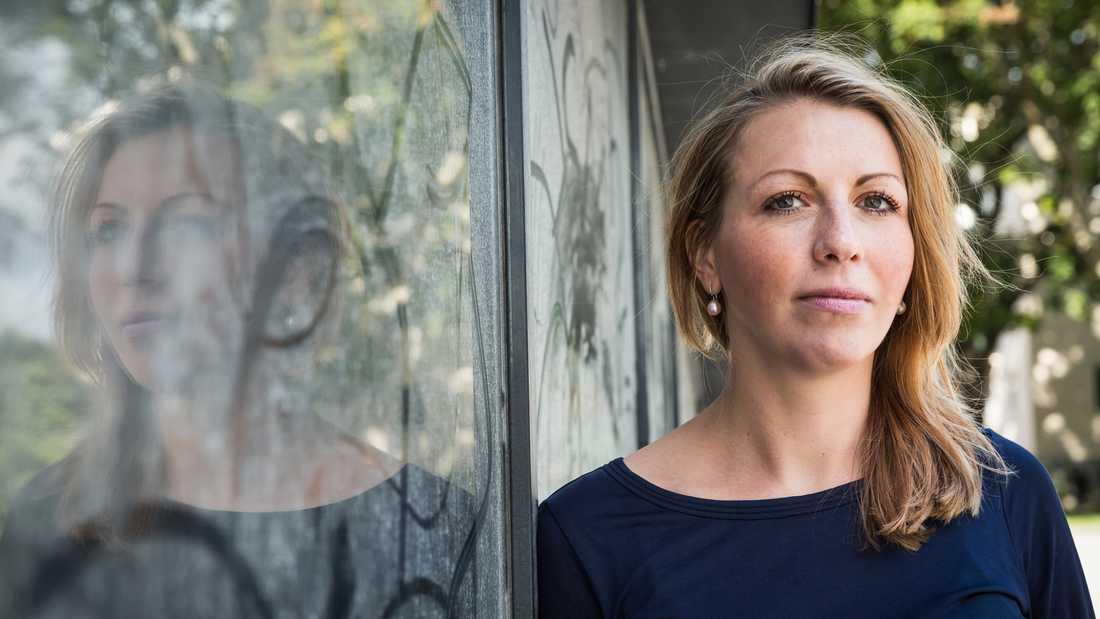 Emilie Orring (M), ordförande för regionstyrelsen.