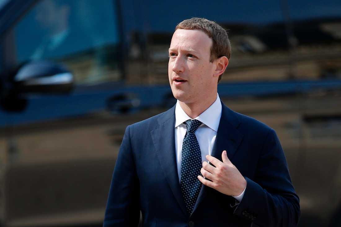 Mark Zuckerberg är vd och grundare till Facebook.