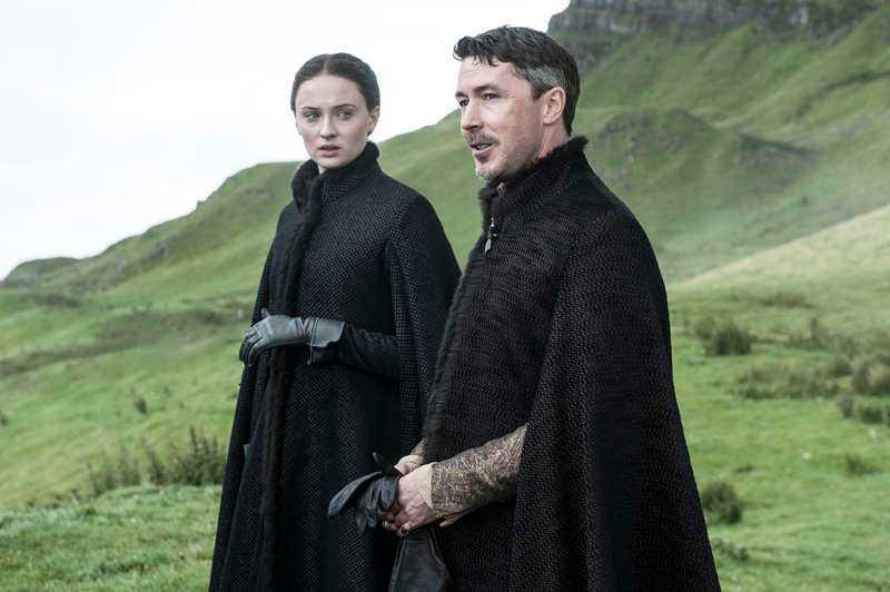 Sophie Turner som Sansa Stark.