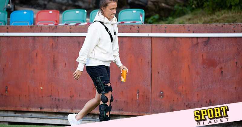 Julia Zigiotti skadad inför OS