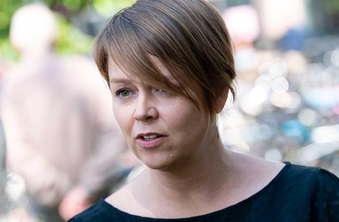 Kommunstyrelsens ordförande i Malmö Katrin Stjernfeldt Jammeh (S) i Malmö. Arkivbild.