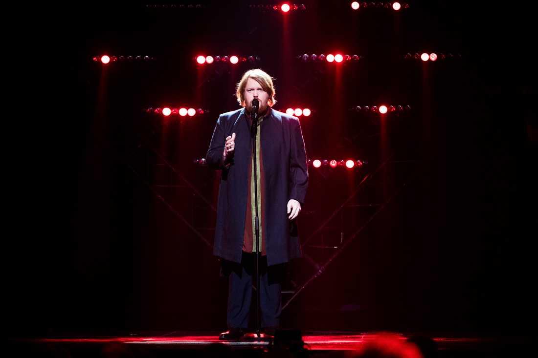 Martin Almgren i Melodifestivalens final