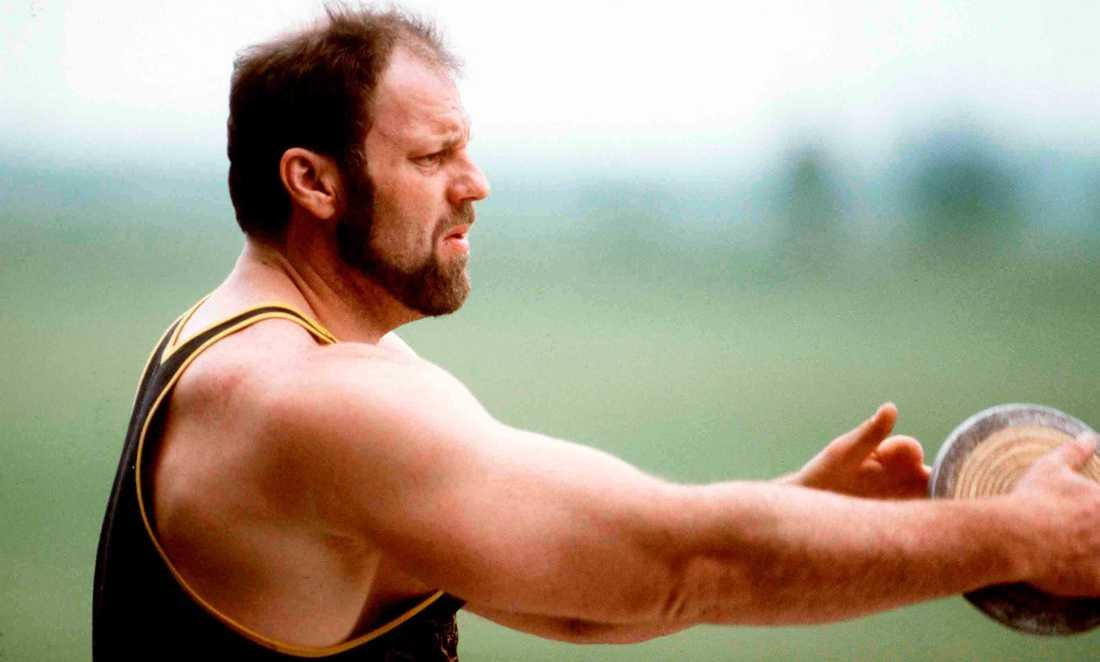 Tidigare rekordinnehavaren Ricky Bruch.