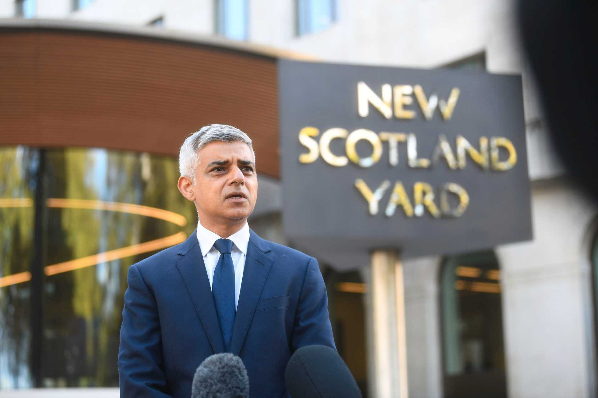Sadiq Khan, Londons borgmästare, säger att han aldrig varit mer orolig än han är nu.
