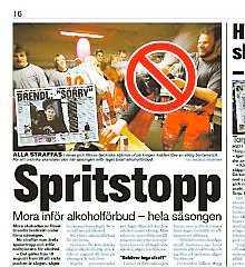 Sportbladet 25 augusti.