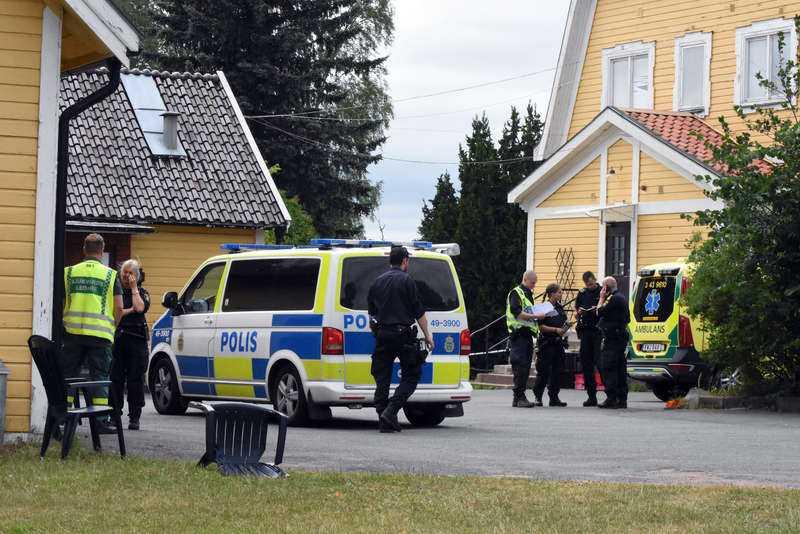 Bina med make och liten dotter hamnade i Mariannelund där hon dödades 26 juni året därpå.