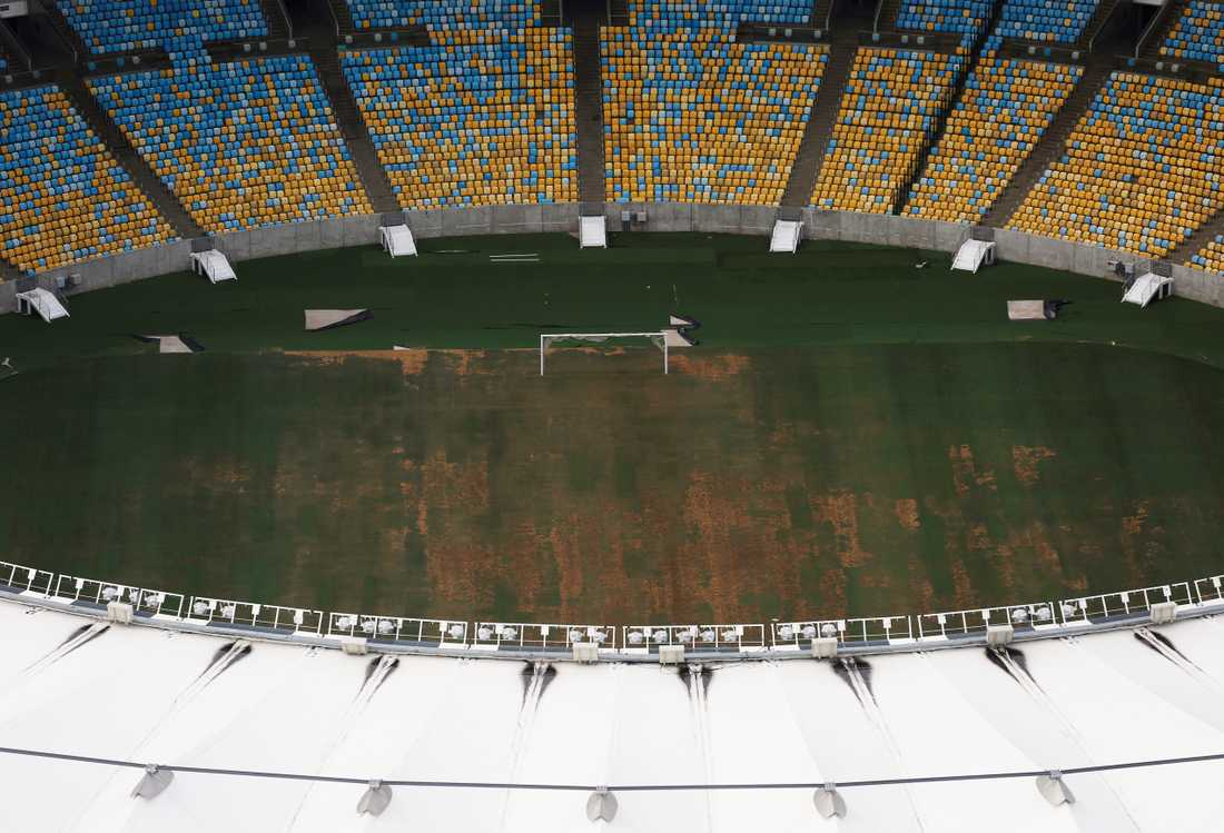 Maracana, där öppnings- och avslutningsceremonin hölls.