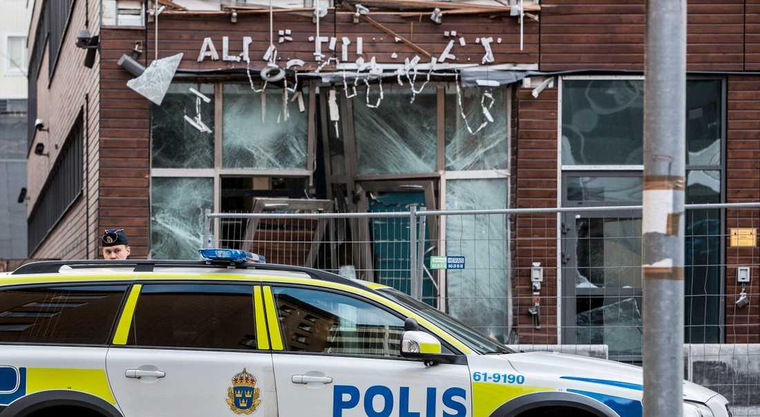 Rättscentrum i Malmö har utsatts för flera sprängdåd, bland annat i november 2014. Arkivbild