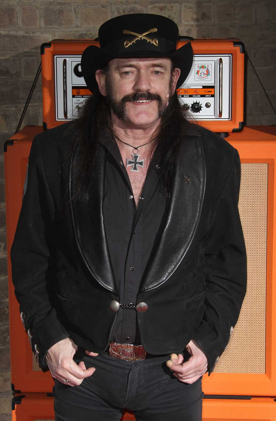 Lemmy Kilmister, Motörhead vid Classic Rock Roll Of Honour Awards i London 2012.