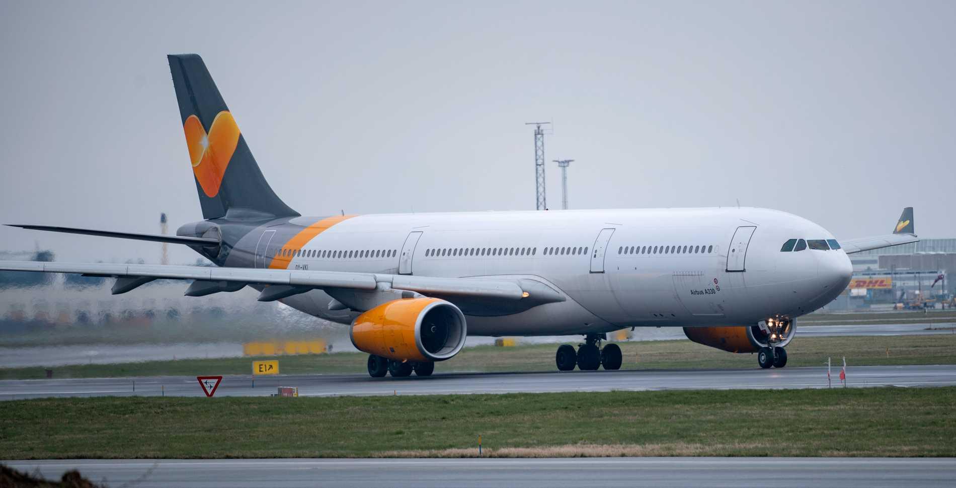 Sunclass Airlines säger upp all svensk kabinpersonal. (Arkivbild)