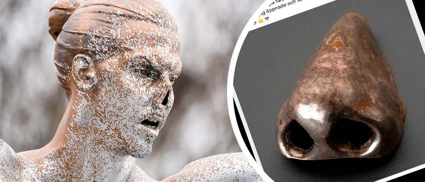 Zlatans stulna näsa påstods vara hittad – var från 1600-talet