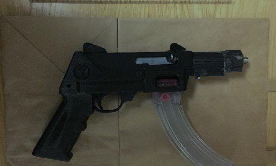 Polisen i Malmö har i år hittat två vapen med delar tillverkade i 3D-skrivare.
