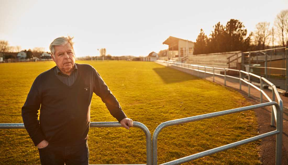 Sven Andersson, ordförande för Skene IF.
