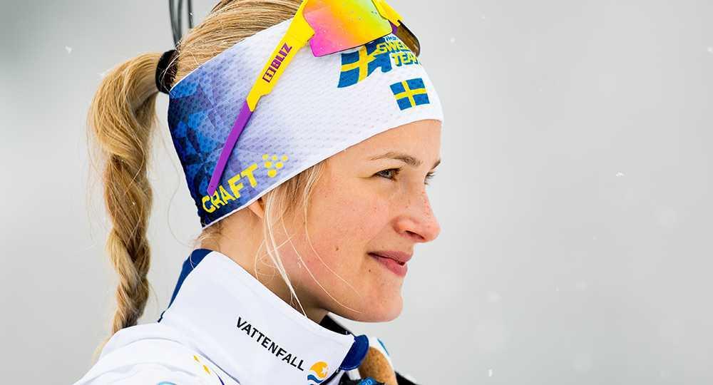Skidstjärnan Frida Karlsson
