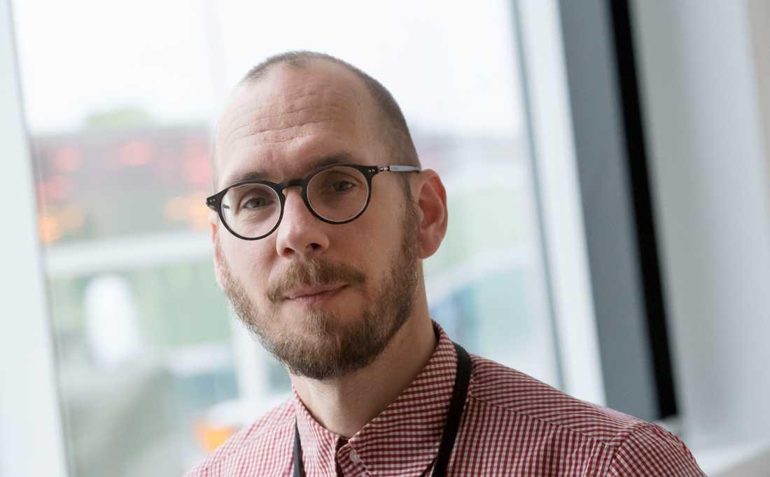 Gustav Strandberg, klimatforskare vid SMHI, är tveksam till om 1,5-gradersmålet fortfarande går att nå.