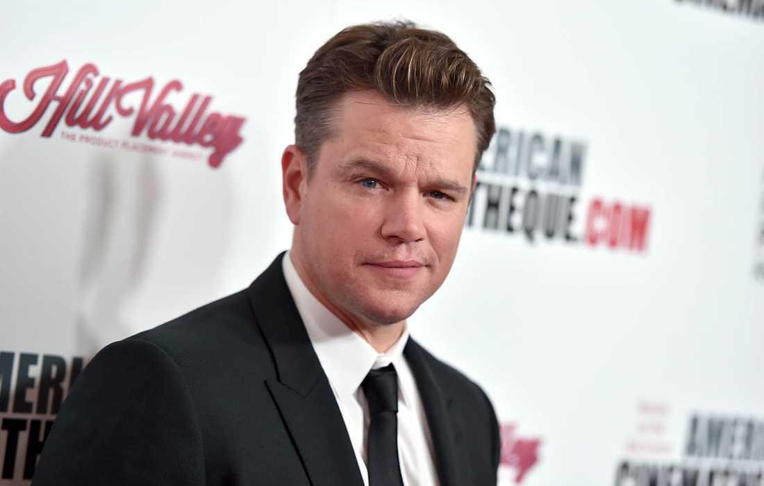 Matt Damon har förlorat sin pappa.