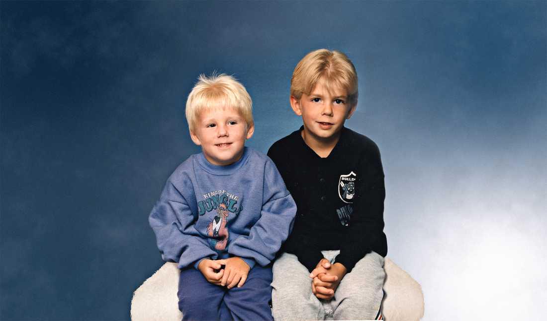 Bröderna Robin och Christian, då 5 och 7 år gamla, pekades ut som skyldiga till mordet på Kevin, 4.