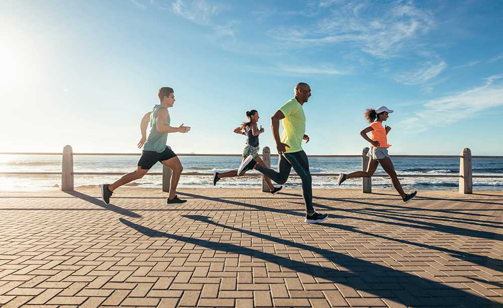 Intresset för träningsresor exploderar. Att kunna jogga på semestern lockar.