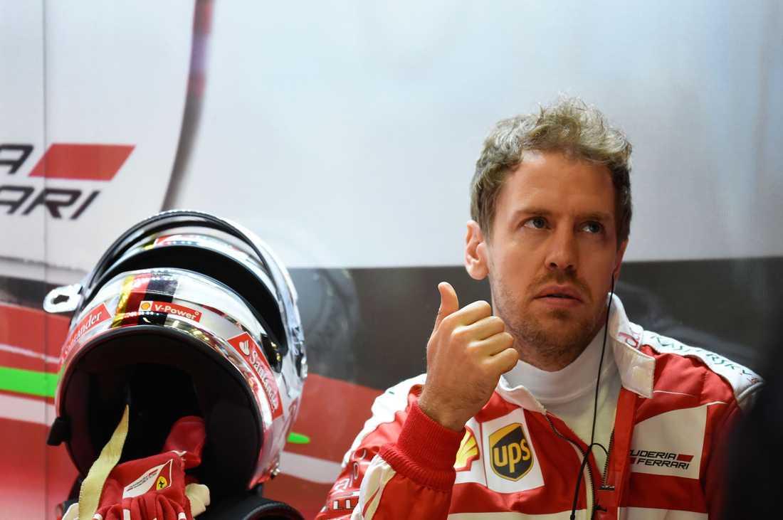 Sebastian Vettel är inte nöjd.