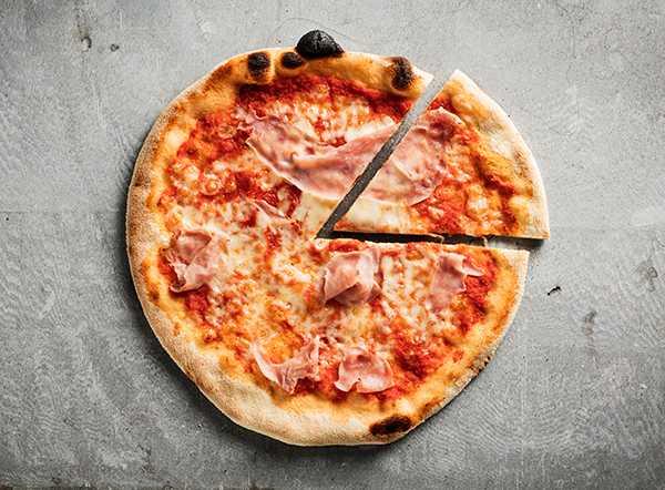 godaste hemmagjorda pizzan