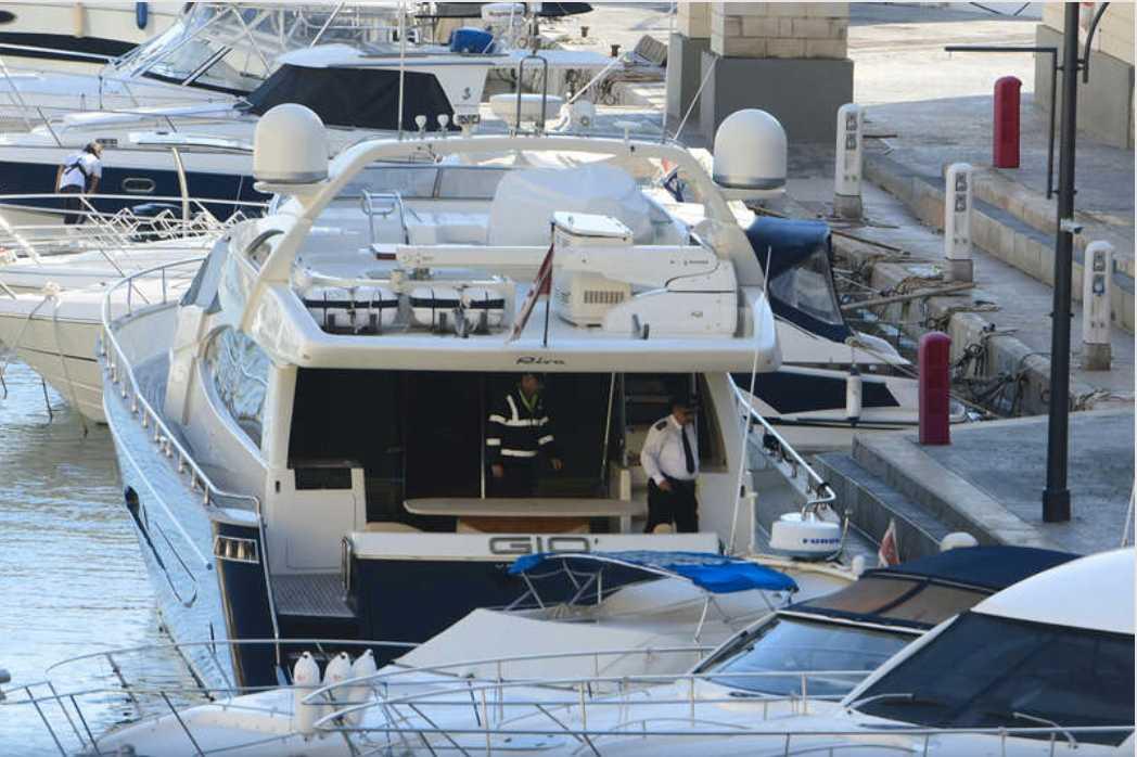 Yorgen Fenech greps ombord på sin lyxjacht.