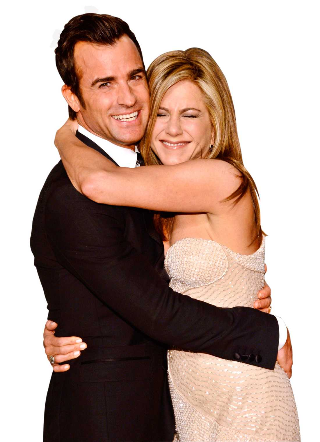 Justin Theroux och Jennifer Aniston överraskade alla när de gifte sig på födelsedagsfesten.
