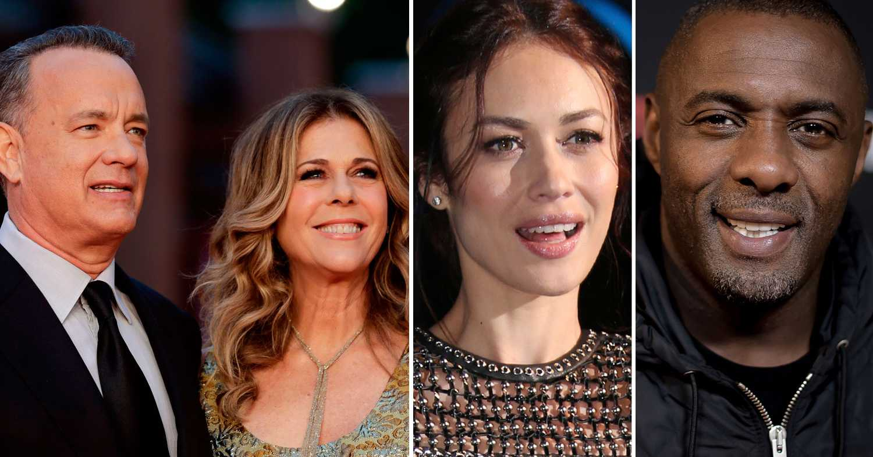 Här är kändisarna som har smittats av coronaviruset