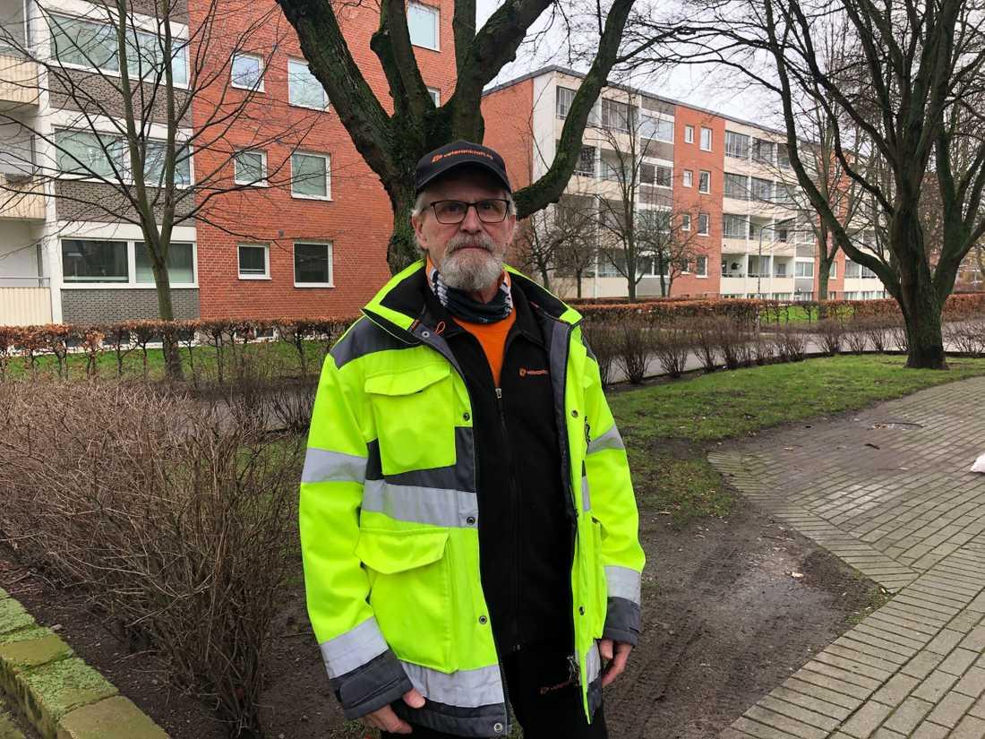 Uno Rosenqvist arbetar i dag med allehanda arbetsuppgifter.