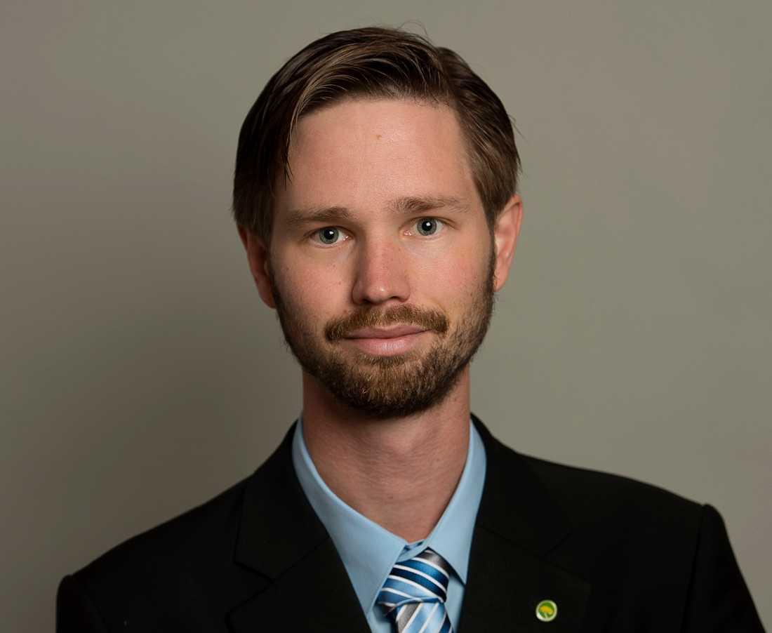 Rasmus Ling, migrationspolitisk talesperson för Miljöpartiet. Arkivbild.