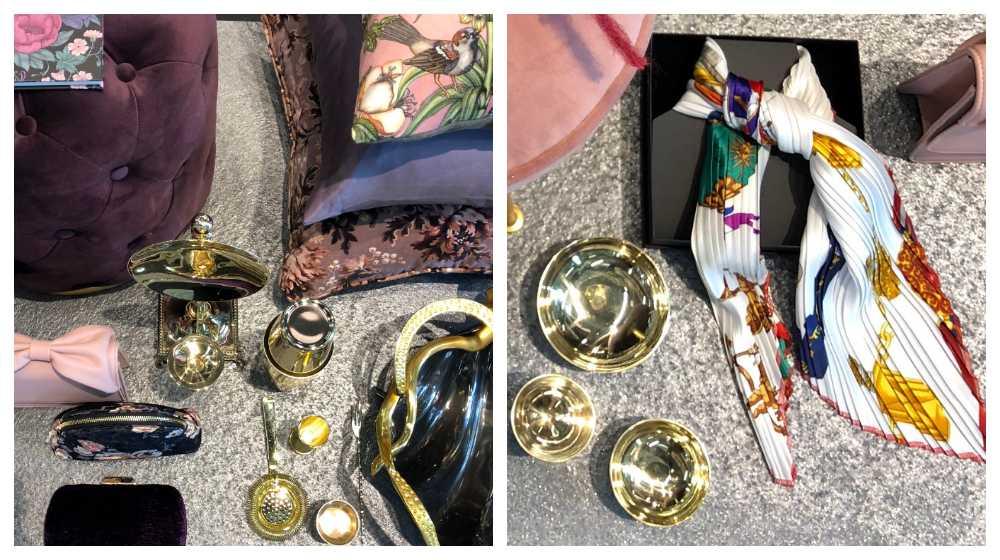 Vintage-scarfen har plisserats för att bli modern.