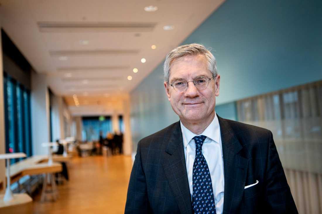 Vattenfalls vd och koncernchef Magnus Hall.