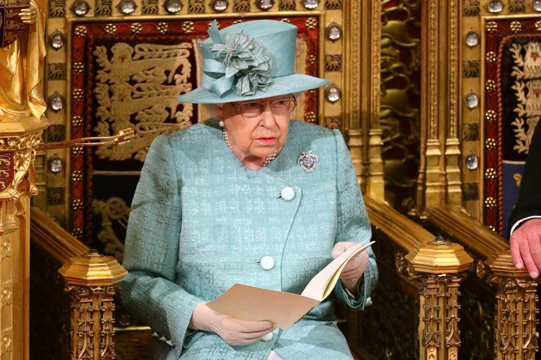 Drottning Elizabeth.