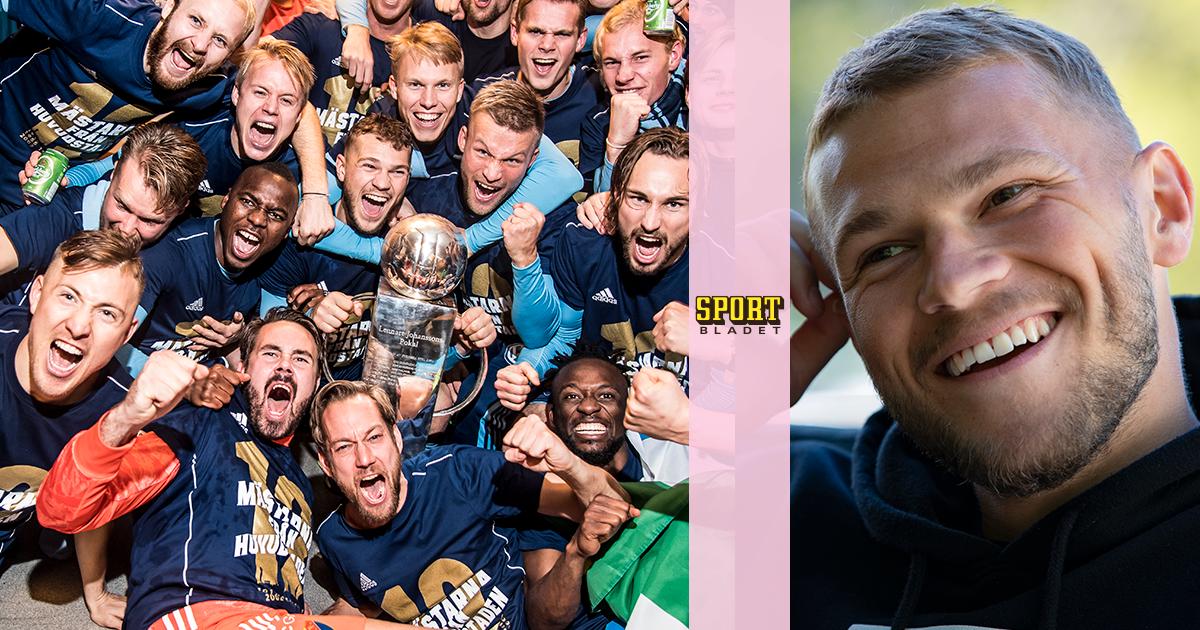 Erik Niva möter Djurgårdens nye lagkapten Jesper Karlström