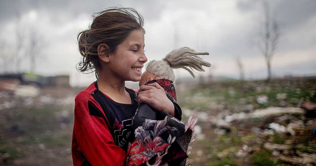 De flesta av de elva miljoner syrier som är på flykt finns fortfarande kvar i närområdet. Bara två procent når Europa.