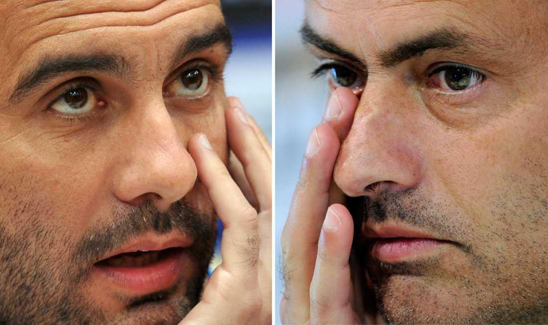 Guardiola och Mourinho – vem vinner?