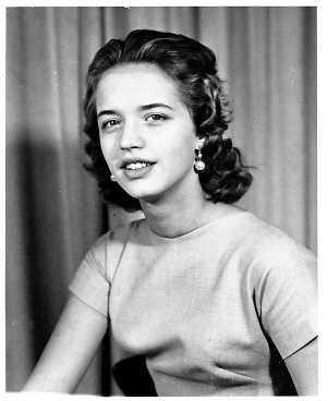 1955 - Barbro Svensson som 17-åring
