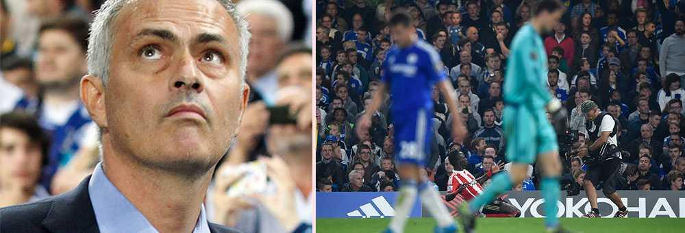 Mourinho hänger något löst i Chelsea