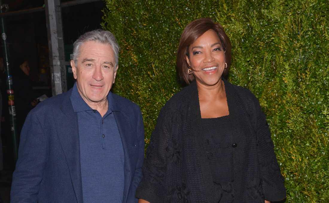 Robert De Niro och Grace Hightower.