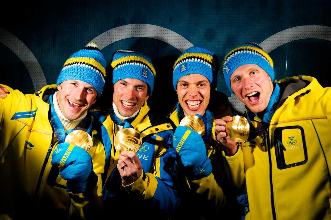 Stafettguldet i OS 2010.
