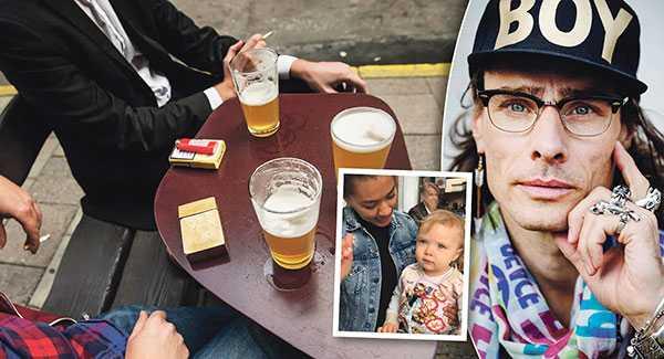 Lika självklart att man inte får röka på flyg hoppas jag det blir med rökfria uteserveringar, skriver Peter Siepen efter att ha varit ute och ätit med sin dotter och systerdotter.