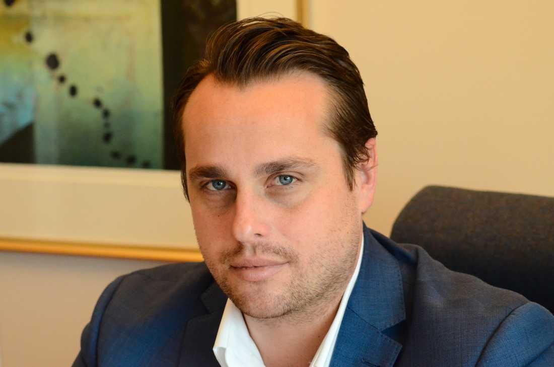 Christian Sonesson (M) är kommunstyrelsens ordförande i Staffanstorp. Pressbild.